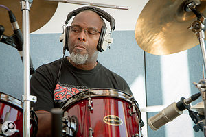 Following Cymande's original split, Sam Kelly has worked as a  session drummer for the last four decades.