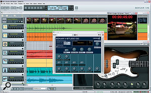 Cakewalk's cut‑down but capable DAW software, Sonar VS.