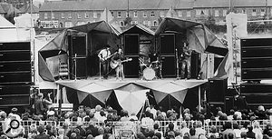Fleetwood Mac's first ever performance was at the 1967 Windsor Jazz & Blues Festival, which was mixed using the first Audiomaster mixer ever made.
