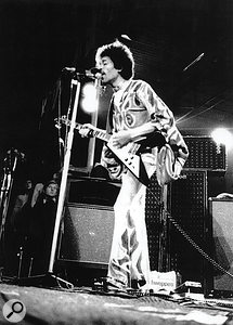 Jimi Hendrix's last ever performance, at the Isle Of Wight Festival in 1970.