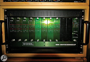 Tim Jessup credits the studio's Burl Audio A‑D converters with preserving and enhancing the sound of the original source tape.
