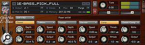 As with a real bass, a touch of compression can really smooth out a CHB performance.
