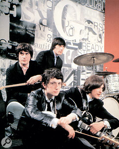 The Kinks on the set of Ready Steady Go!, 1965.