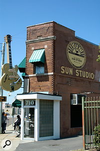 Sun Studio, originally known as Memphis Recording Service, is now a tourist attraction and, once again, a recording studio.
