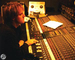 Darren Allison at The Church's Amek G2520 console.