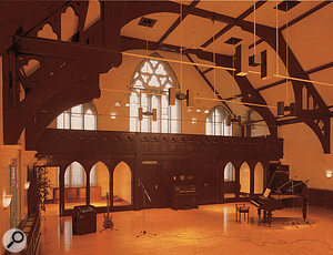 The Church's live room.