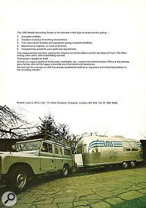 Original brochure for the LMS trailer.