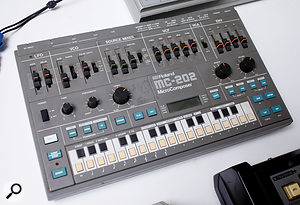 The Roland MC-202 that gave so much trouble during the making of 'Doctorin' The House'.
