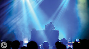 Com Truise performs in Athens, Georgia.