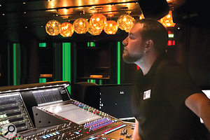 JR Guenther is entertainment sound supervisor for Holland America.