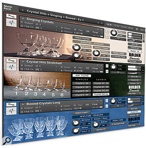 Bolder Sounds | Crystal Glasses Volume 2 for Kontakt 3+, EXS24