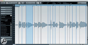The Sample Editor's Hitpoint system can be used to divide vocal loops, not just drum loops.