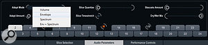 Loopmash 2's Audio Parameters tab offers some new and useful tools...