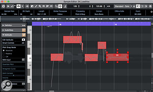 The comprehensive VariAudio 3 Smart Tools collection makes for super-efficient pitch-correction.