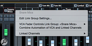If you want to tidy up the appearance of your level automation data, the 'Combine Automation of VCA and Linked Channels' option will do the trick.