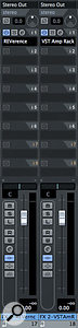 The VST Amp Rack can also be used as a send effect alongside your more usual reverb or delay processors.