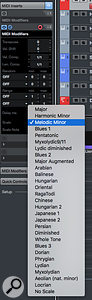Step Input places the notes played on your keyboard according to the current quantise settings.