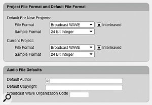 With DP6, you're not restricted to using Sound Designer as the native audio format. In Preferences you can choose 16-, 24- or 32-bit float Broadcast WAV or AIFF instead.