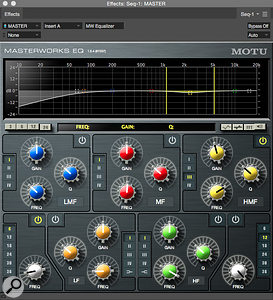 DP's bundled plug-ins are wide-ranging and of high quality. They include a  quality EQ, reverb, sophisticated utilities and purpose-built guitar effects.