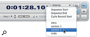 Recent versions of DP6 reinstate this very useful location tool, the Marker menu.