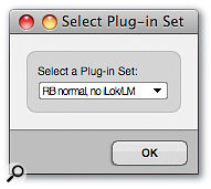 Holding down the Alt key as you start up DP allows a plug-in set to be chosen.