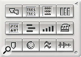 There's no DP6 equivalent for the 'window buttons' drawer of previous versions; Consolidated Window features and keyboard shortcuts take their place.