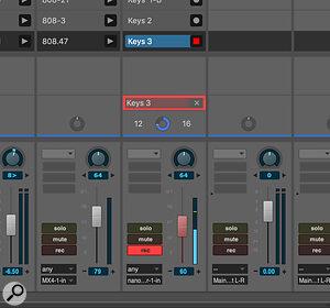 Screen 7: A MIDI Clip ready to be recorded into.
