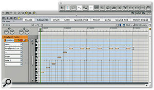 Using Real-time MIDI Plug-ins In Digital Performer