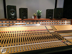 Caribou's most recent album was mixed at producer Nigel Godrich's studio, using this console hand built by Bill Putnam. It was, says David Wrench, surprisingly clean.