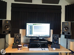 Wrench has his own mix room in a  converted garage in Bangor.