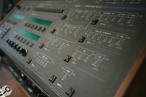 Even with access to the original hardware, recreating synth sounds and mix effects was often a  challenge.