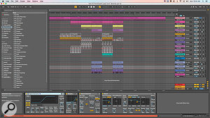 Ableton Live was used for part of the album's intro.