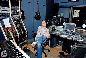 Peter Stengaard's role is to take Diane Warren's simple demos and create full-sounding recordings.