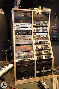 There are two lavishly equipped studios in the RealSongs complex, although Warren herself still uses an ancient DX7 and a cassette recorder as her main tools.