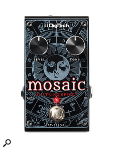 The Mosaic takes a different approach, using polyphonic pitch-detection to decide which notes need shifting up by an octave and which simply need to be doubled with a hint of detuning.