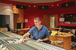 Paul Golding recorded and mixed the musical score for the movie.