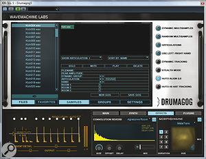 WavemachineLabs' Drumagog 5.