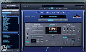Two of the Omnisphere patches Dom used in this project.