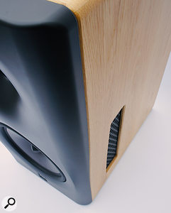 The 8C achieves its cardioid LF response courtesy of these highly engineered apertures on either side of the cabinet.