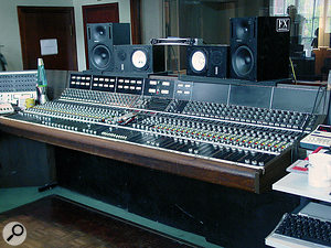 Among Ethan Johns' favourite studios is RAK in London, which features one of the few vintage API desks outside the US.