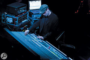 Boris Wilsdorf explains that carrying out front-of-house duties for Einstürzende Neubauten — as here at Koko in London — requires an intimate knowledge of unusual instruments, which often require extreme EQ settings.