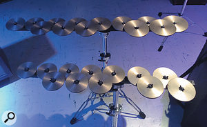 Crotales (sets of tuned mini-cymbals) sound as beautiful as they look!