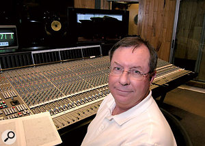 Shawn Murphy, the man behind the Hollywood orchestral series microphones.
