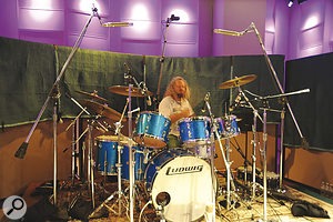Ministry Of Rock 2's Tal Bergman, apowerhouse drummer whose CVhas to be seen to be believed.