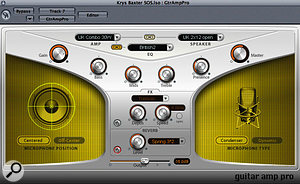 Processing audio before it passes through an amp simulator is a creative alternative to adding effects to its output.