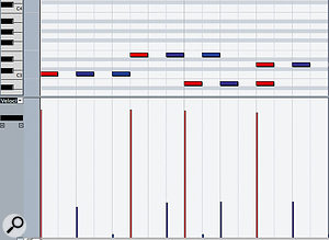 Don't forget that you can use MIDI velocity and other controller data to create quite complex effects — and this approach can take up much less computing power than using audio effects.