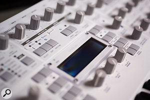 You don't have to use plug-ins! Some synths such as the Virus TI have very flexible effects built in.