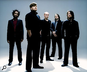 Elbow: from left, bassist Pete Turner, singer Guy Garvey, drummer Richard Jupp and brothers Craig and Mark Potter, who play keyboards and guitars respectively.