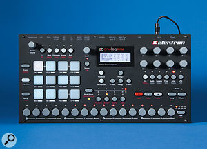 The Analog Rytm's front-panel design is very much in keeping with Elektron's other instruments.