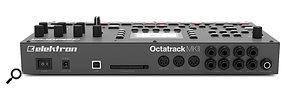 The Octatrack MkII's rear panel connectivity remains the same as the MkI, but all the inputs have been upgraded to balanced connections.